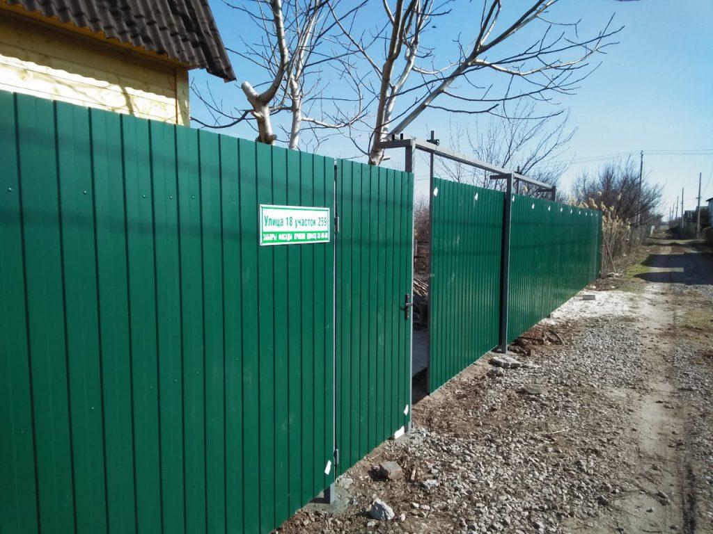 Откатные ворота Волгоград