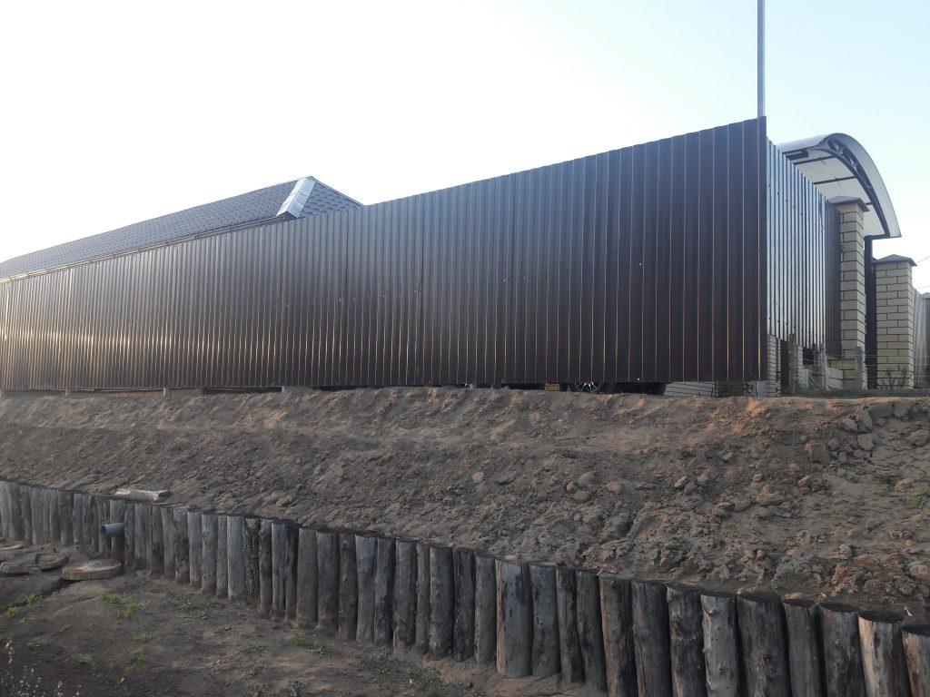 Строительство Забор из профнастила по Волгоградской области